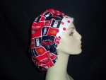 Atlanta Hawks Bouffant & Dots Vintage Fabric